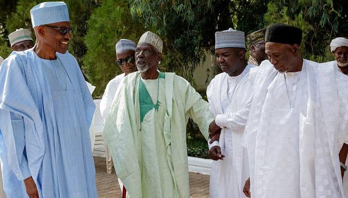 Muhammadu Buhari receives classmate