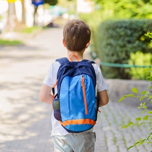 Backpacks contribute to backache in kids.