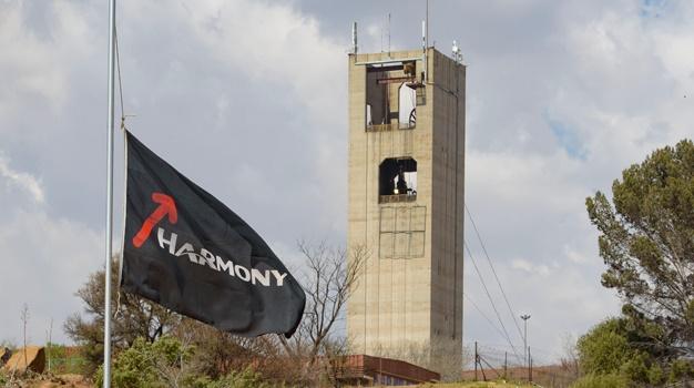 Harmony Gold's Kusasalethu gold mine, near Carletonville. (Lisa Hnatowicz, Gallo Images)