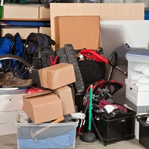 Get that clutter out of your home. You'll feel so much lighter.