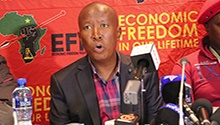 We are happy the ANC has been punished, humbled - Malema