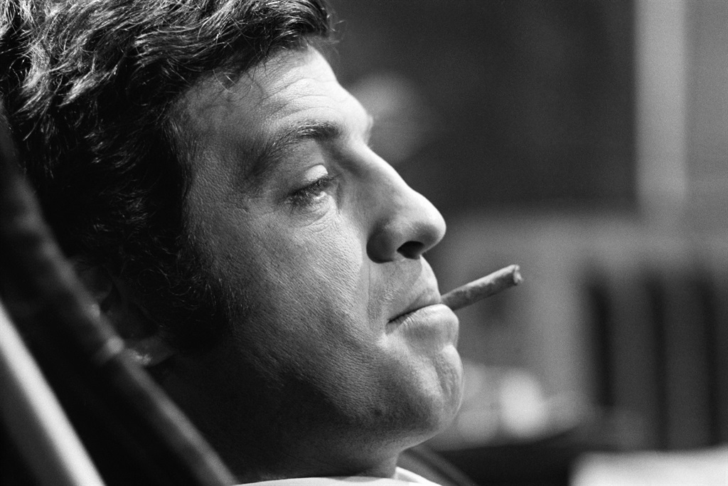 French actor Jean Paul Belmondo on the set of the film Ho!, by director Robert Enrico. (Photo by James Andanson/Sygma via Getty Images)