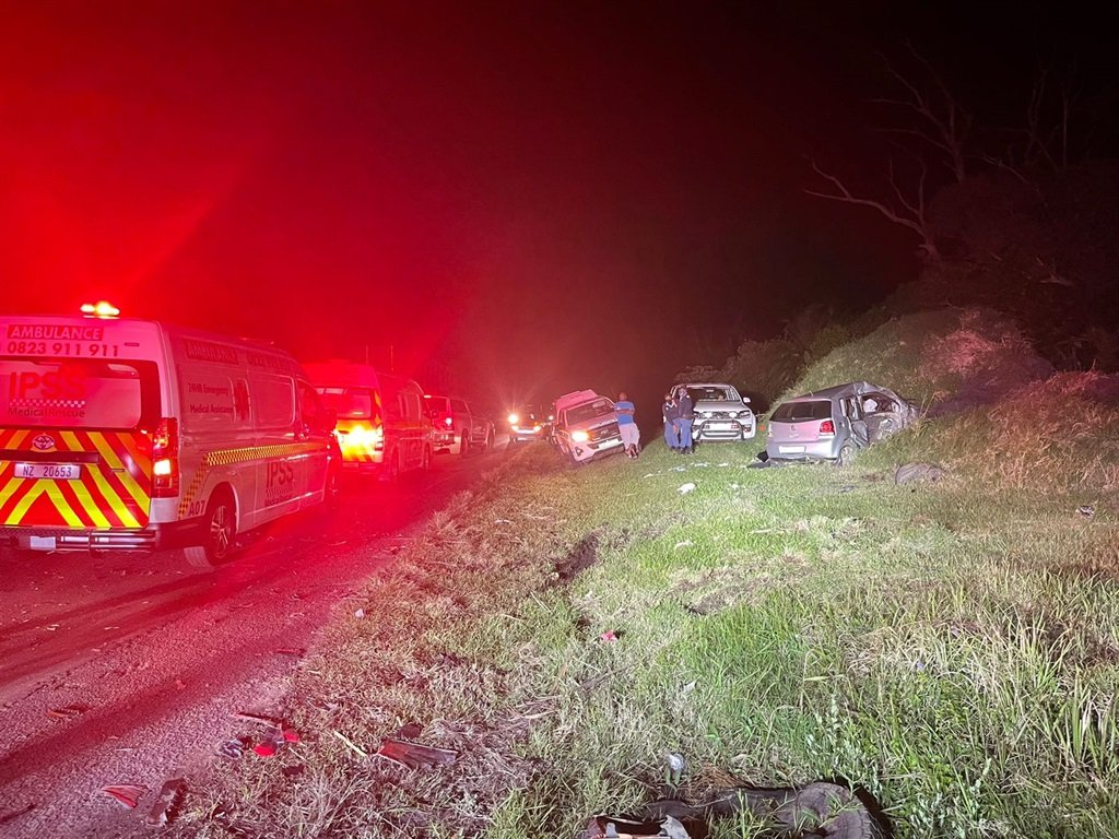 One person has died and another three are in critical condition following a collision in KwaZulu-Natal.