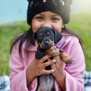 How does a pet contribute to your happiness and health?