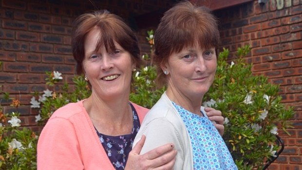 Twin sisters and nurses Gillian (left) and Jennifer Baugh (51). Gillian has been working at Hayfields Medicross for the past 15 years and Jennifer has been working for a general practitioner, Dr Appelt, at MediClinic for the past 11 years.