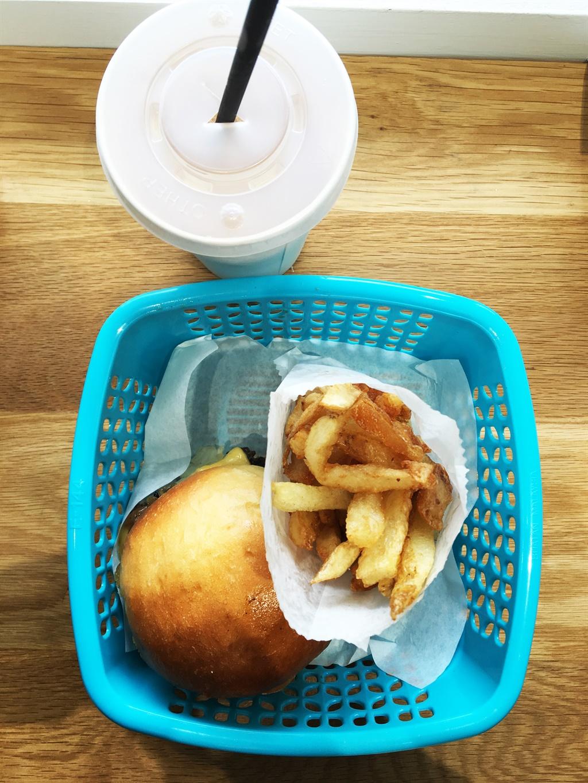 fast food,banks burger,fries,banks,burgers,cape to