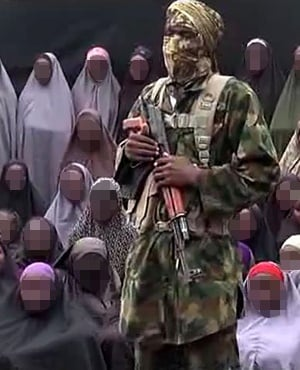 Video grab image taken from a video released on Youtube purportedly by Islamist group Boko Haram. (File: AFP)