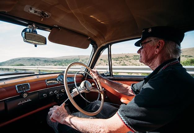 Ponton Road trip drive