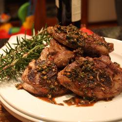 baked Karoo lamb chops