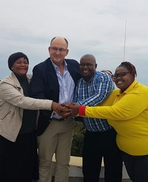 DA, UDM, Cope and ACDP coalition after the 2016 municipal elections. (File, Derrick Spies)