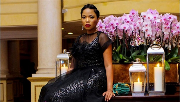 Terry Pheto's love affair with Leopard Frock designs
