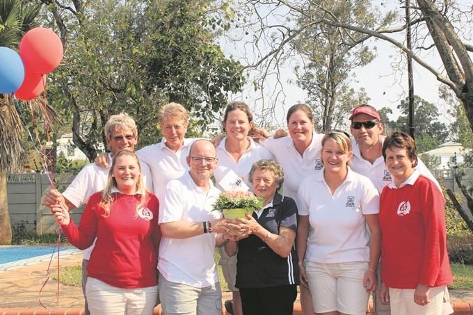 Freda Waygood celebrated her 90th birthday at Epworth School, Pietermaritzburg.