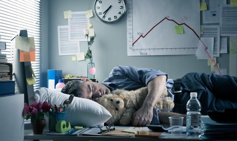 Sleeping on the job has its benefits. (Shutterstock)