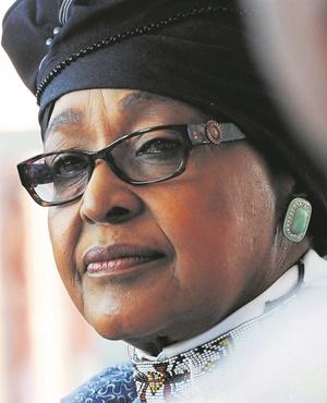 Winnie Mandela (Mary-Ann Palmer, Netwerk24)