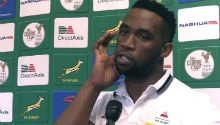 I couldn't speak a word of English - Kolisi reflects on rugby journey