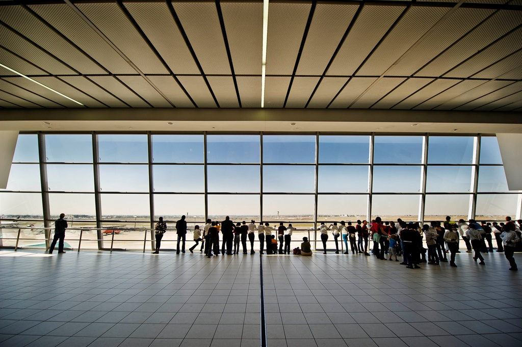 OR Tambo International Airport.  (Nelius Rademan)