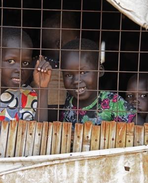 South Sudanese refugee children (File,AFP).