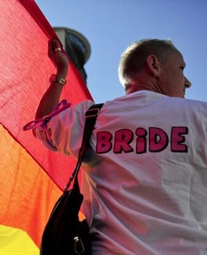 LGBTI activist in Gauteng. Picture: Herman Verwey/File