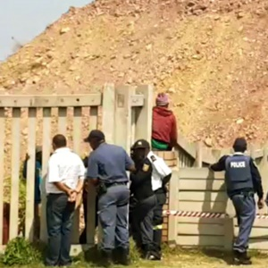 Police on the scene at Langlaagte. (File, News24)