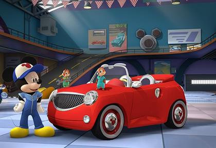 Mickey Mouse cars