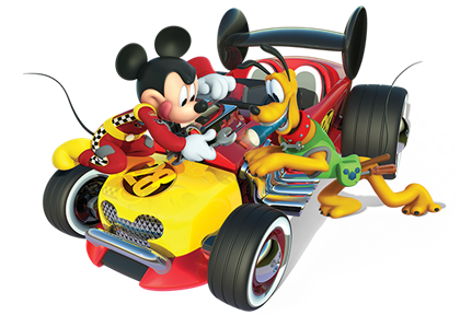Mickey Mouse cars and bruno