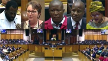 WATCH: Screams and shouts in the National Assembly