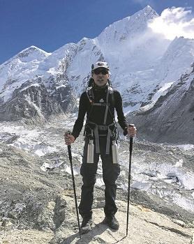 Pietermaritzburg's Dr Mahomed Moola recently made the long trek to the Mount Everest Base Camp at age 62.