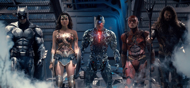 The Justice League. (Photo Credit: Courtesy of Warner Bros. Pictures/TM & © DC Comics )