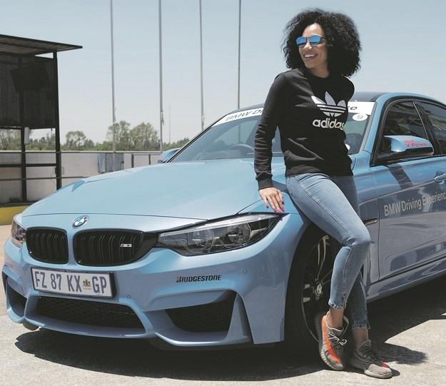 Defensive driving: SA celebs team with BMW at Zwartkops ...