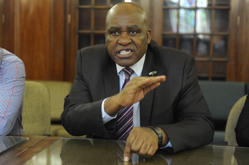 Major-General Mthandazo Berning Ntlemeza. Picture: Emile Hendricks