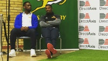 Notshe, Kolisi take scholarship programme to Steenberg High