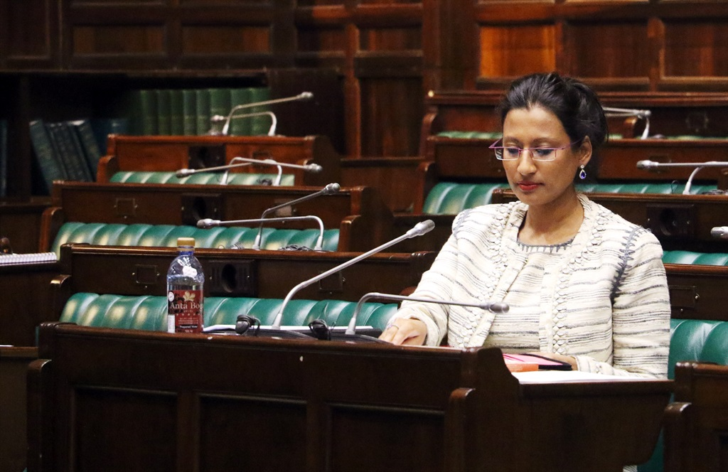 Blowing the whistle: Rachel Kalidass, who has resigned from the board. Picture: Jan Gerber
