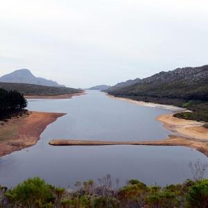 The Lowe Steenbras Dam last year. (Netwerk24)