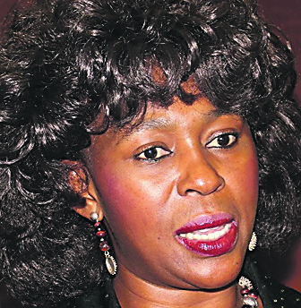 Makhosi Khoza, Member of Parliament serving on the finance committee.