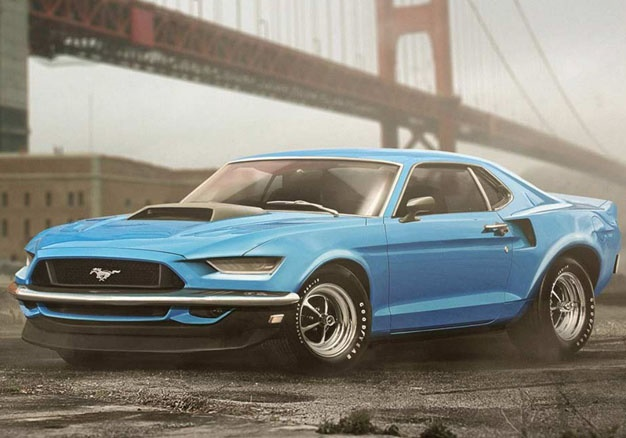 Pics 7 Modern Vehicles Redesigned As Retro Cars Wheels24