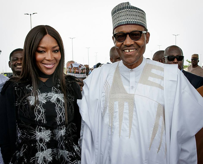 Naomi Campbell And Buhari Picture Is Causing Troub