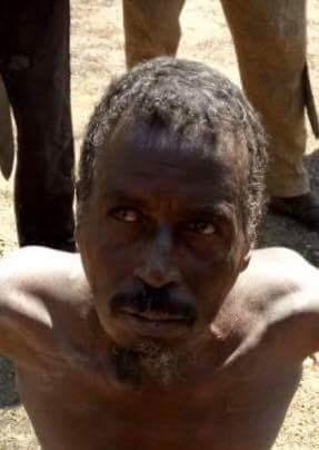 captured Boko Haram Commander.
