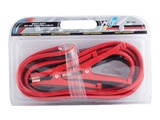 booster cables, car survival kit