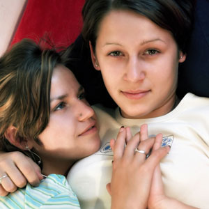 Moms with girl lesbian