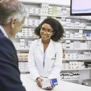 pharmacy, black woman, medication