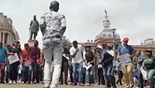 Students determined to march peacefully - FMF group