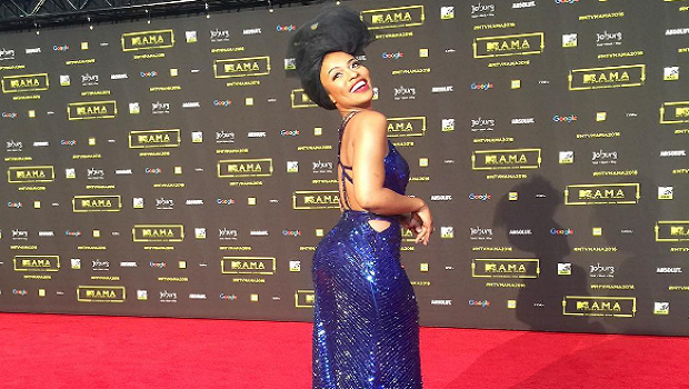 Nomzamo and Bonang shine on MTV Music Awards Africa 2016 red carpet