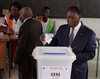 Ivorian's vote for new constitution