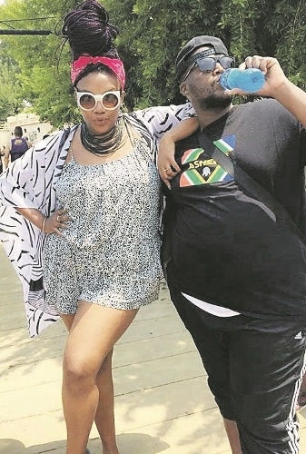 Hhp sends his wife a birthday shout out daily sun