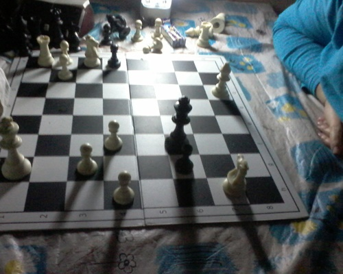 chess game, load shedding