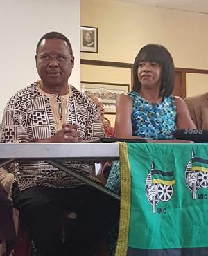 Frank Chikane and Cheryl Carolus (Lerato Sejake, News24)
