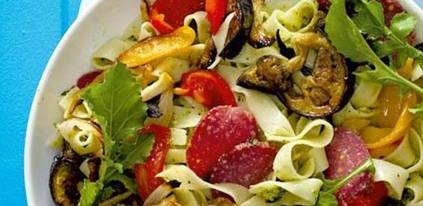 recipe, pasta, vegetables