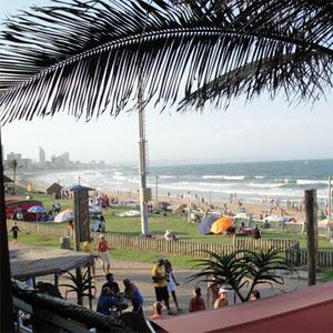 Moyo beach front