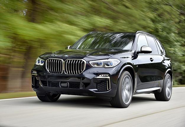 2018 BMW X5 blue