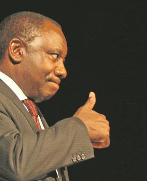 Cyril Ramaphosa.